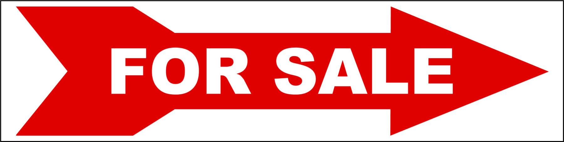 For Sale Directional