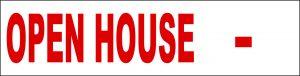 Open House Fill In