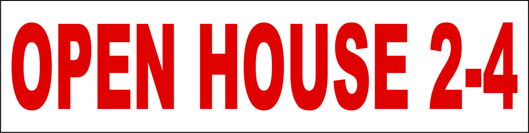 Open House 2-4