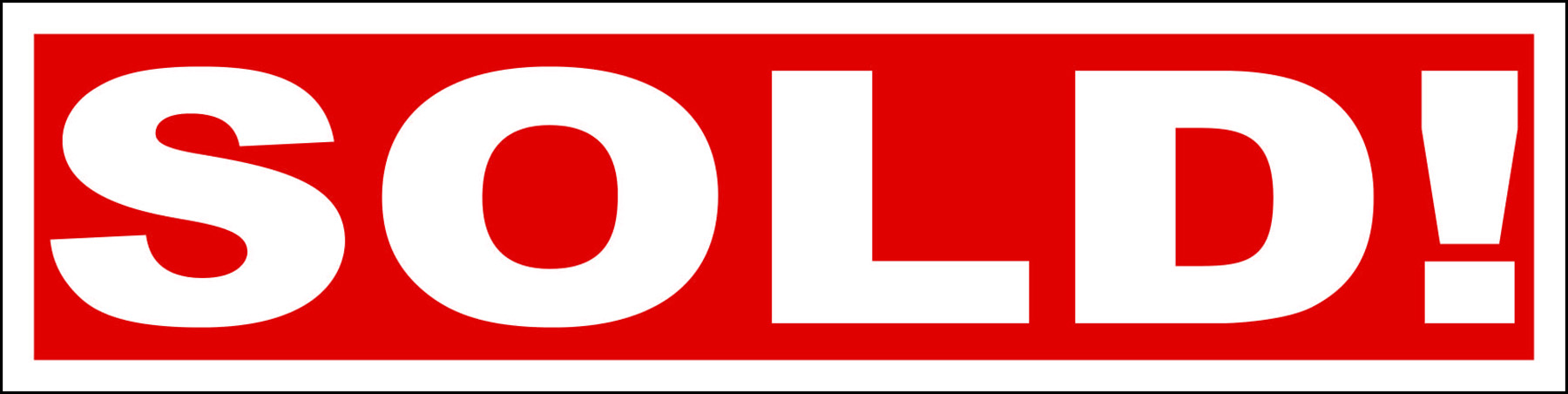 Sold! On Red