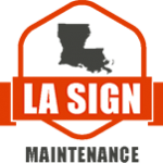 louisiana sign maintenance logo